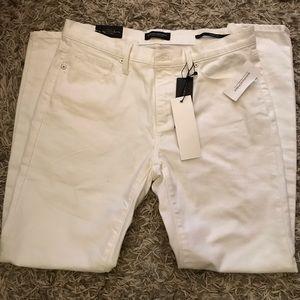 White Skinny Jeans Banana Republic